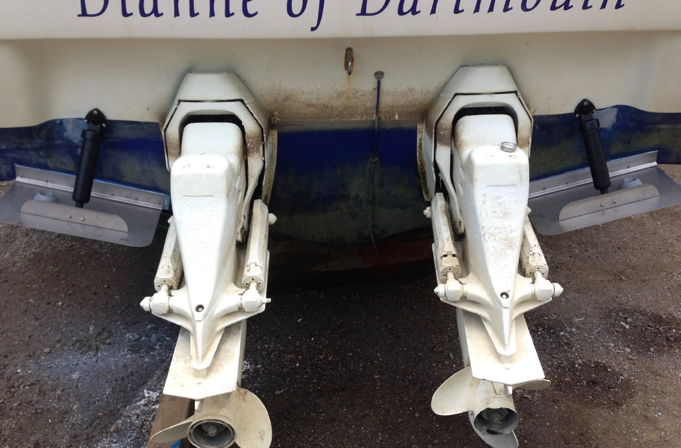 Trim Tab Repairs – Cranchi 30