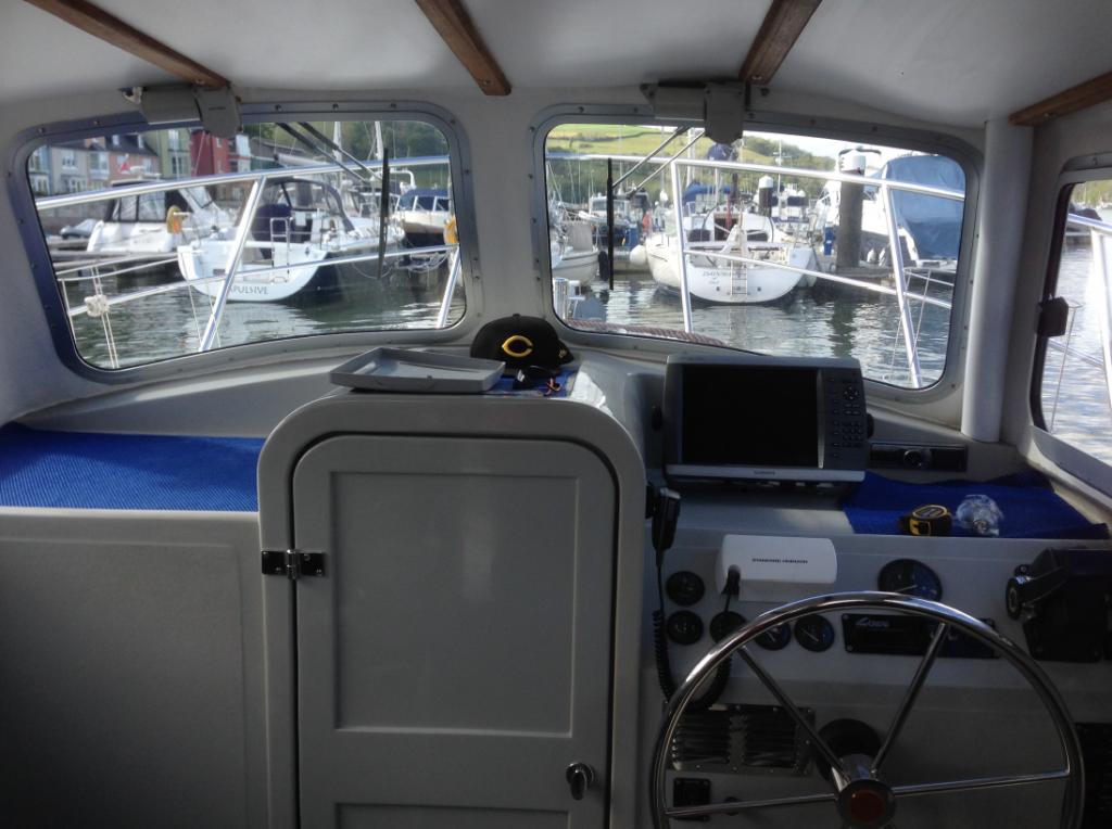 Garmin MFDs – Pleasure Fishing Boat